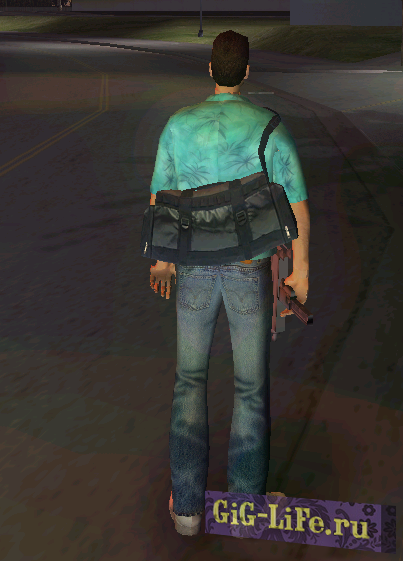Tommy HD with bag from GTA 4
