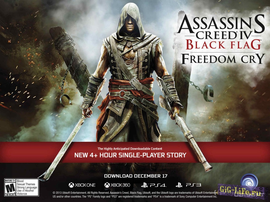 Assassins Creed 4: Freedom Cry