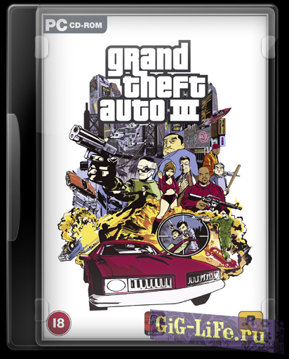 Скачать торрент GTA 3 / Grand Theft Auto III High Quality (2002-2016) PC | Repack by D!akov