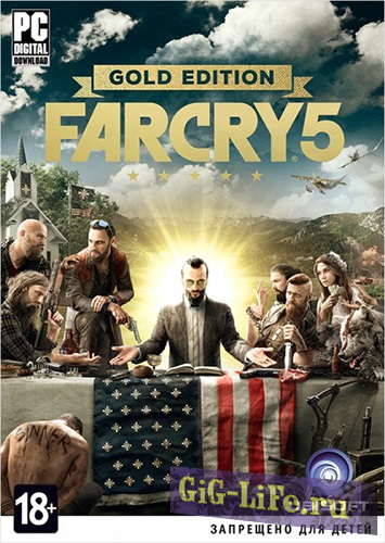 Far Cry 5: Gold Edition v 1.4.0 + DLCs (2018) PC