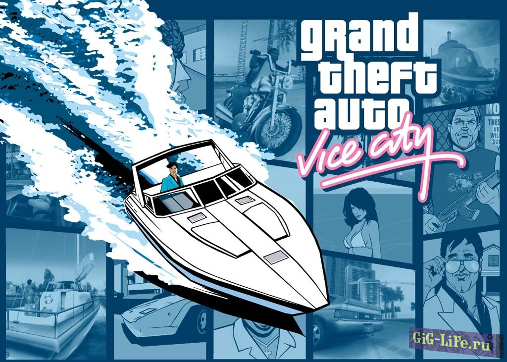 Grand Theft Auto Vice City Seter