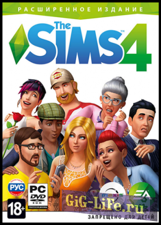 The Sims 4: Deluxe Edition [v 1.48.90.1020] (2014) {RUS|ENG|MULTi}